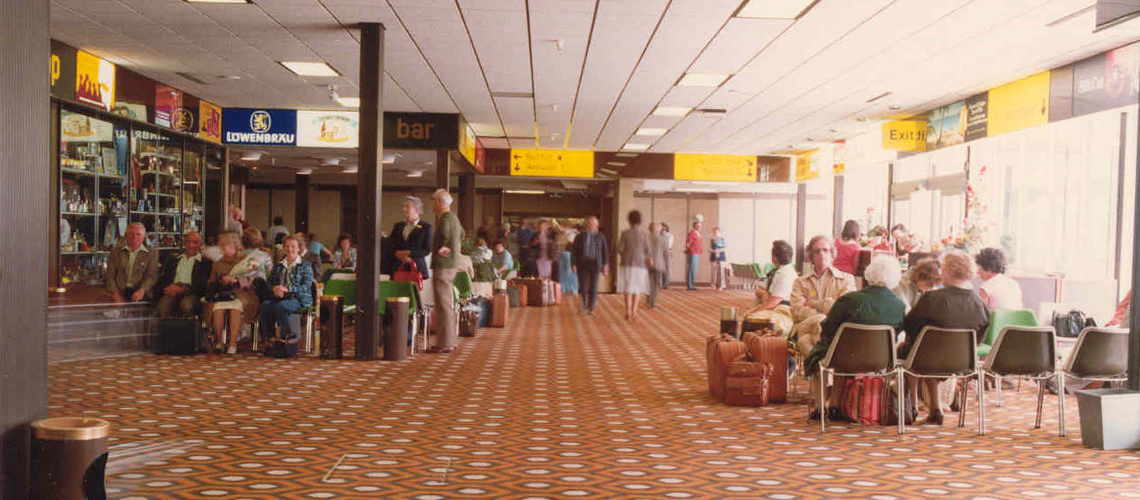 Guernsey Airport Interior 1974