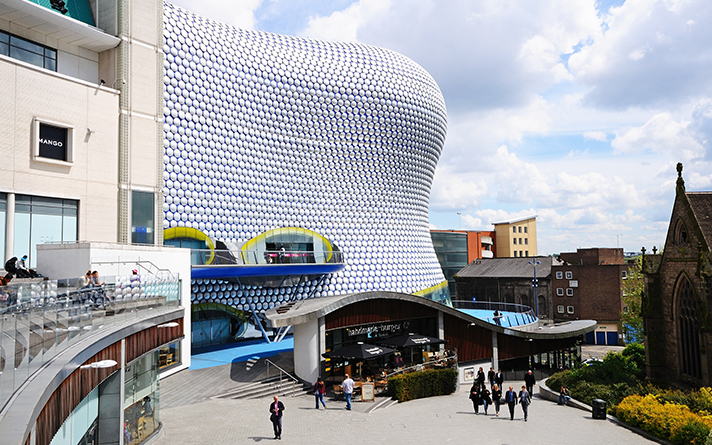 The Bullring shopping centre