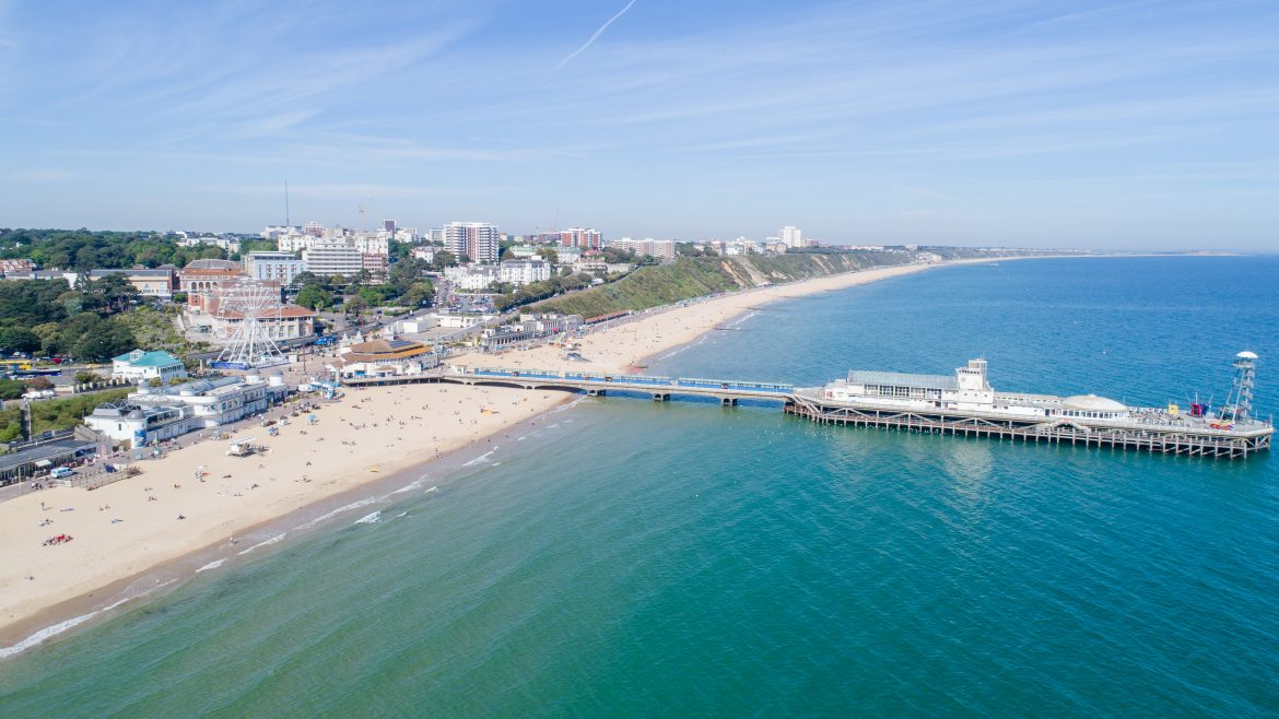Bournemouth sea front