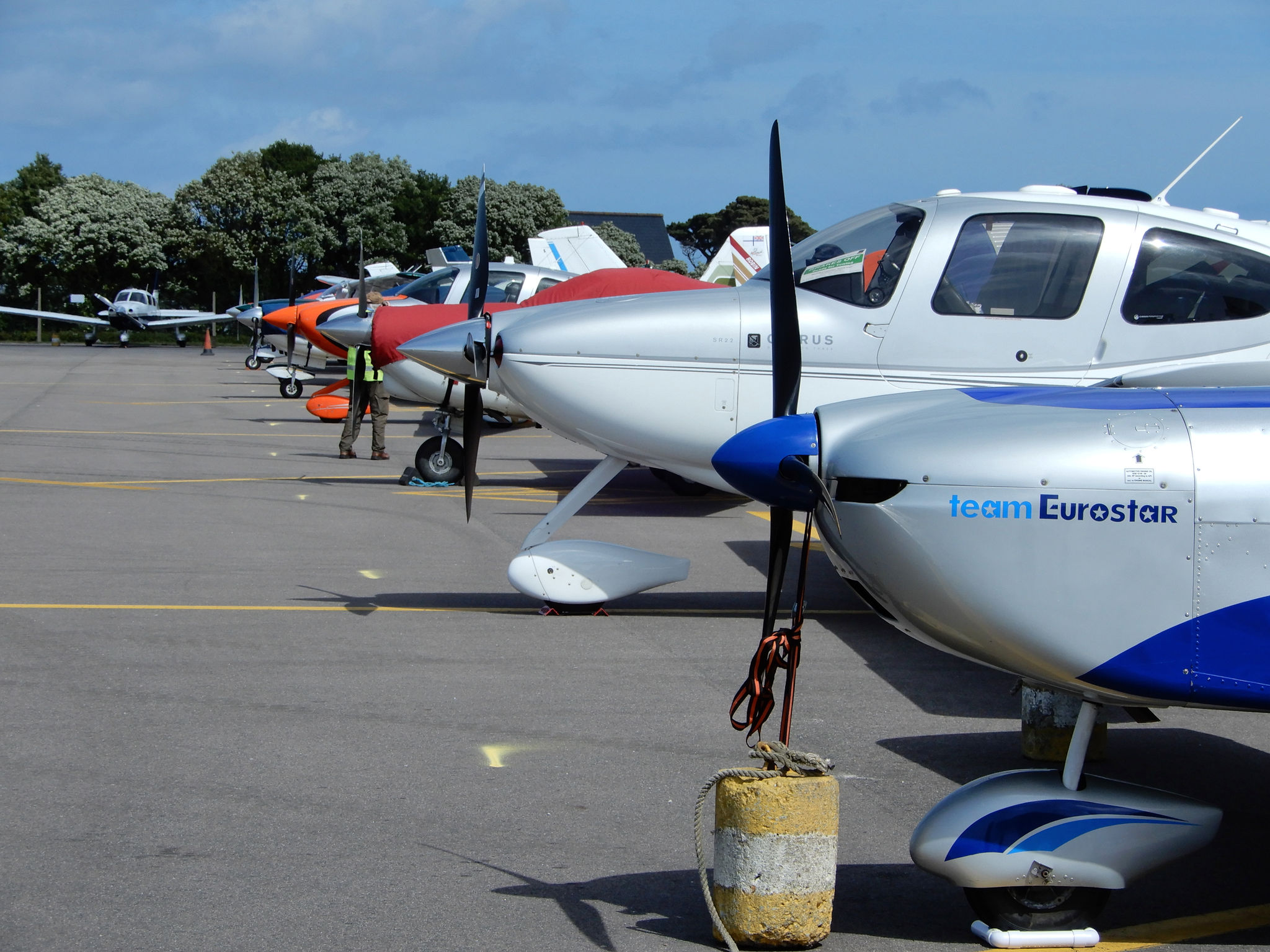 45 Aircraft And Crews Take Part In The 2018 Guernsey Air Rally