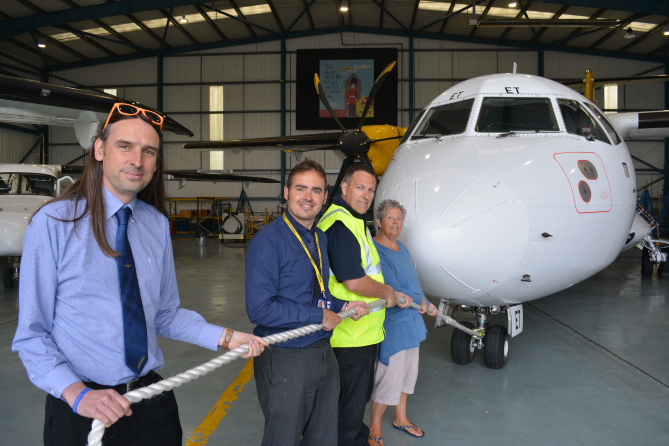 Great Aircraft Pull Planned Guernsey Airport