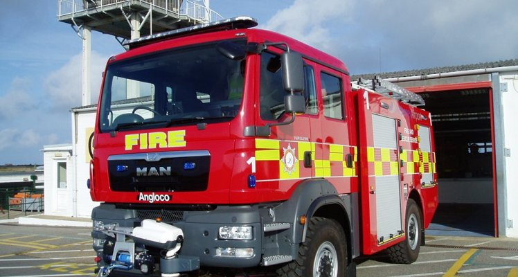 Alderney Airport Fire Appliance