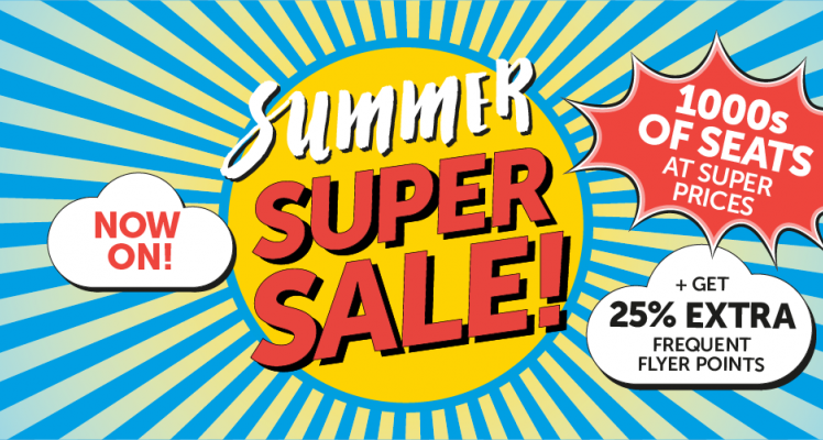 Aurigny Summer Sale