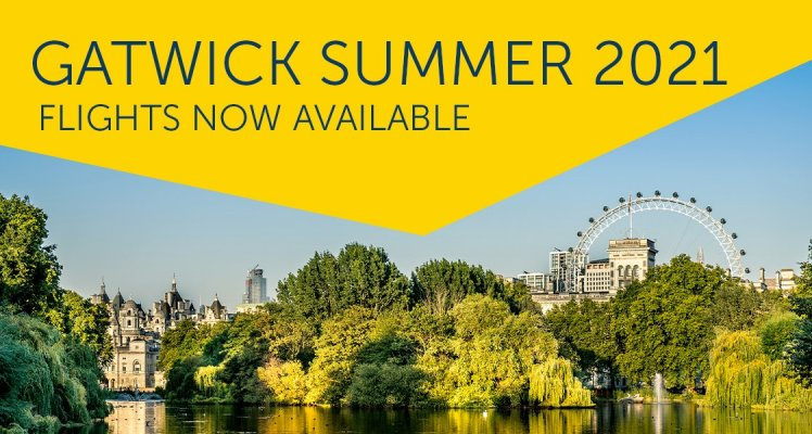 Aurigny launching London Gatwick summer 2021 services