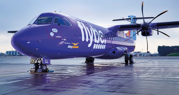 Flybe franchise partner Blue Islands to maintain East Midlands service
