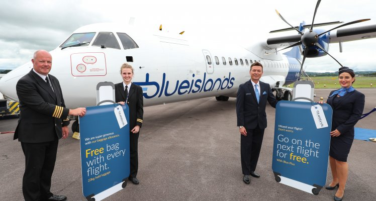 Blue Islands' customer survey shows requirement for better baggage policies