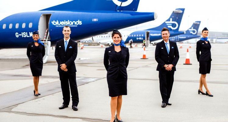 Blue Islands' Flights on sale until March 2022