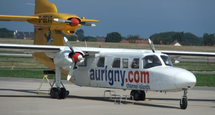 Aurigny announces Charity Pleasure Flights for retiring Trislander
