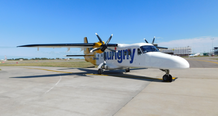 New Aurigny Dornier Aircraft Set To Enter Service Guernsey Airport