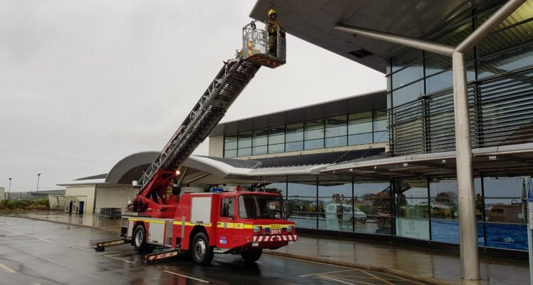 Guernsey Fire and Rescue Service at Guernsey Airport