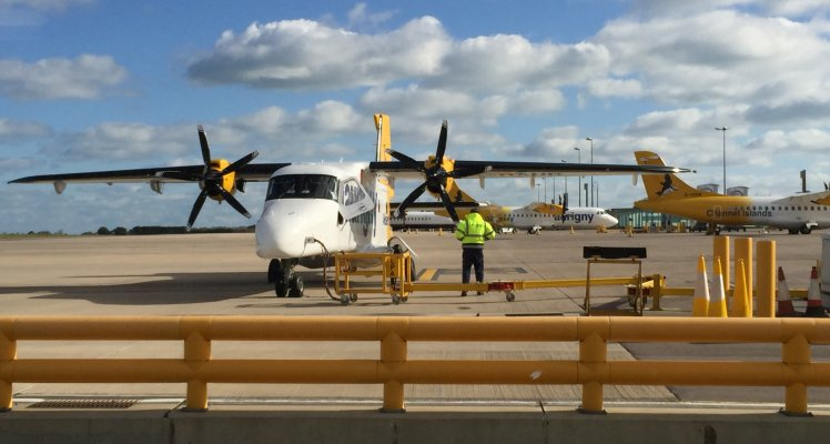 Aurigny's new generation Dornier 228 now flying