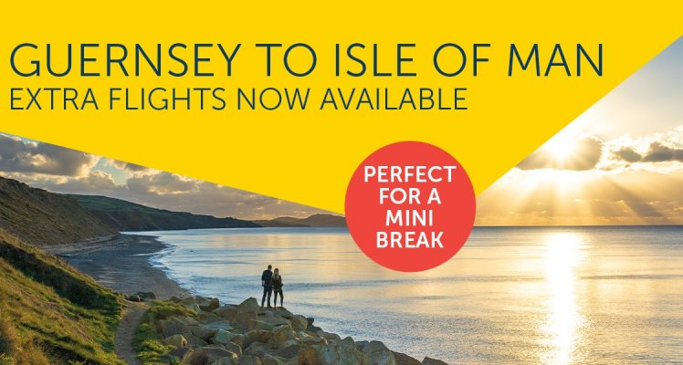 Extra Isle of Man Flights Added for August with Aurigny!