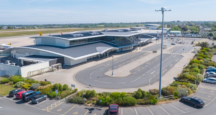 Guernsey Airport opening hours from 6 February 2021. Picture Airport terminal building