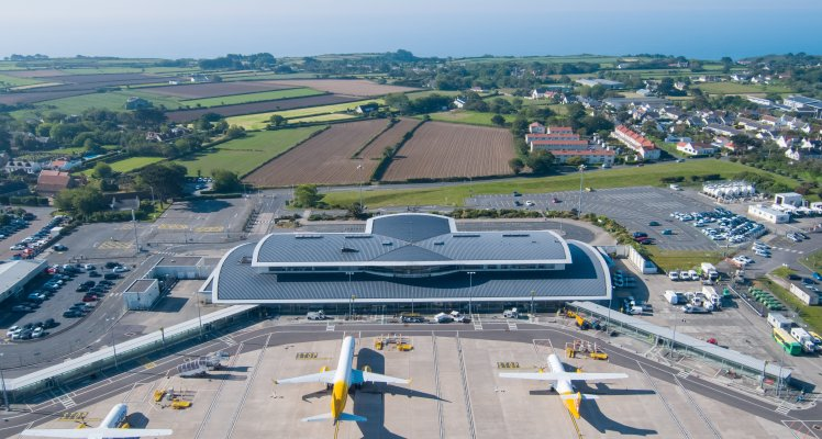 Guernsey Airport apron