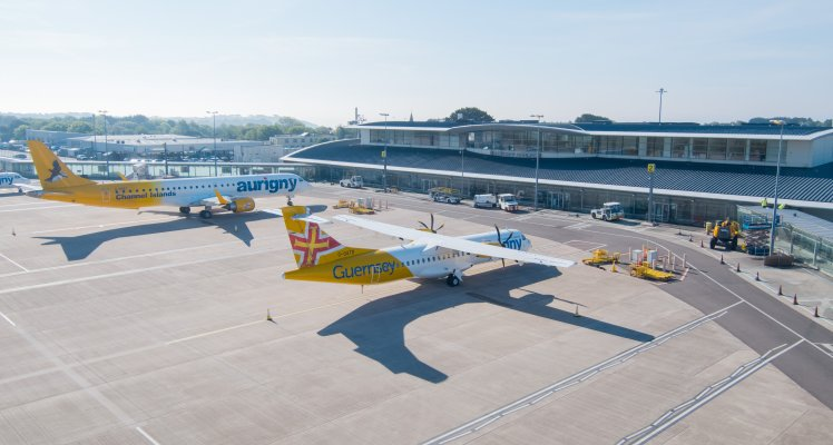 Aurigny Launch Twilight Check-In Service