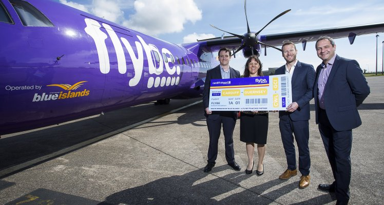 Blue Islands direct Cardiff service to return
