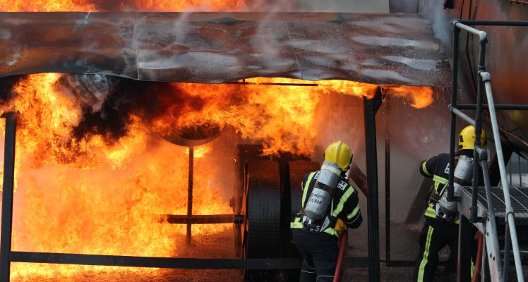 Guernsey Airport Fire and Service Training