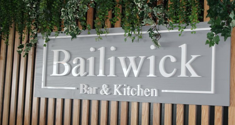 Bailiwick Bar and Kitchen sign