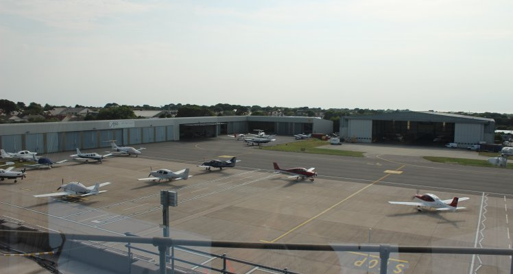 Guernsey Airport West Apron