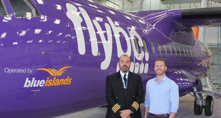 Blue Islands' Flight Operations Director promoted to Accountable Manager