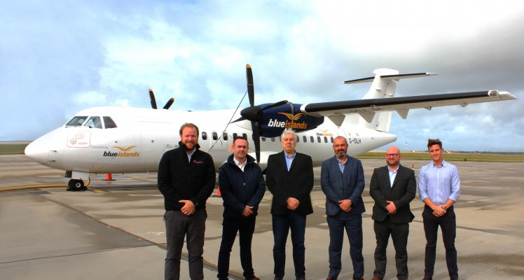 Blue Islands selected to provide ATR expertise to Loganair