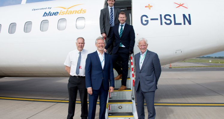 New Blue Islands service from Guernsey to London Southend for convenient access to London starts