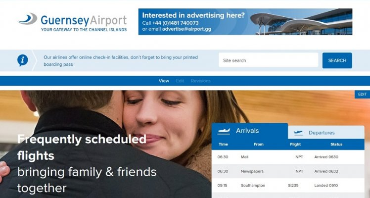 Guernsey Airport 'Website Feedback Survey'