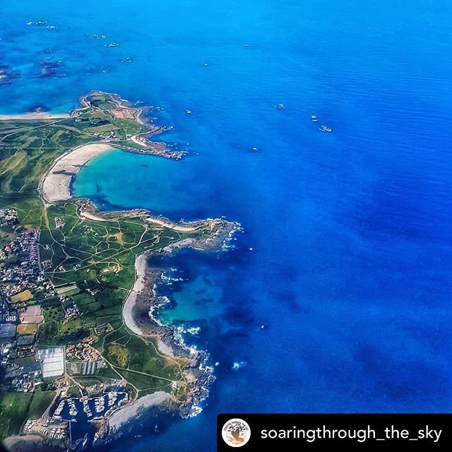 Posted withrepost  soaringthroughthesky Guernsey! Stunning from the ground up! Located in the English Channel near the French Coast, this British Crown Dependency is a great holiday destination, with its beaches and turquoise waters to rival the Caribbean, with its greqt restaurant scene, with its close proximity to the UK but with a European climate... its a great place to escape Brexit this year!Come check out our blog post with lots of amazing pictures to make you want to holiday here too! www.soaringthroughthesky.com Link in bio