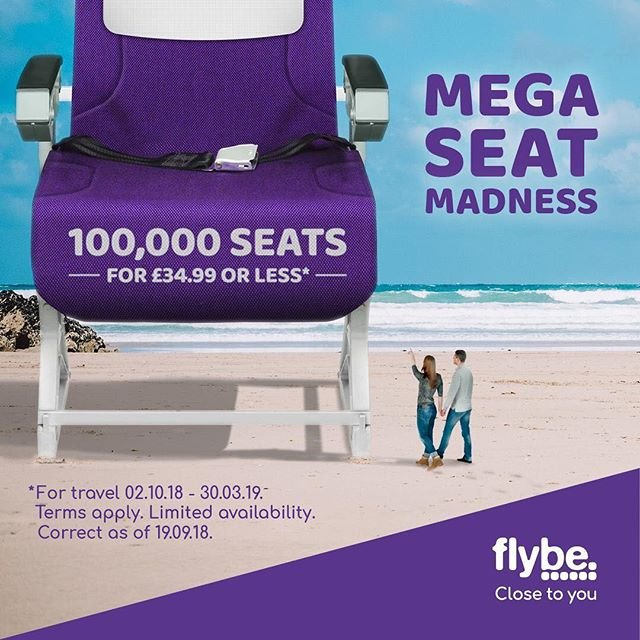 Get booking on flybe.com