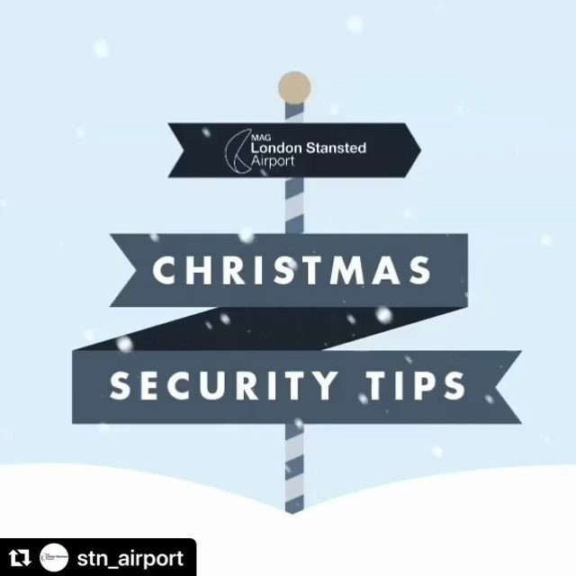 Thanks to stnairport for this video, with advice for getting though security with liquids this Christmas.