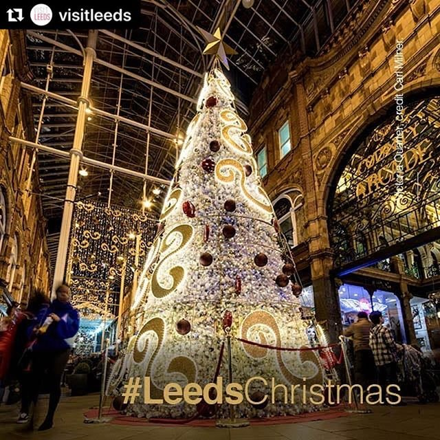 #Repost visitleeds with makerepostWhatever the weather, theres plenty going on in Leeds. Weve sensational shopping in historic arcades and spectacular centres keeping you warm and dry. Make it Leeds this Christmas.#LeedsChristmas #Leeds #aurigny