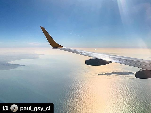 #Repost paulgsyci with makerepostA lovely flight back, with some decent island views, from Gatwick earlier...#gatwick #guernsey #aurigny #myaurigny #embraer #emb195 #flight #alderney #isleofwight #portsmouth #thesolent #englishchannel #aviation #avgeek #flying #wingshot #backhome #shadow #sunlight #blueskies #ayline #views #scenery #instagood #instapic #insta #igers