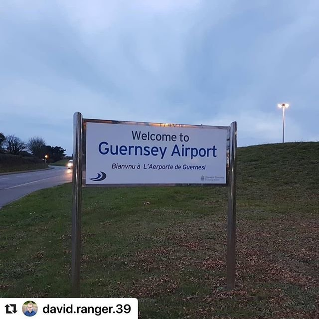 #Repost david.ranger.39 with makerepostGateway to paradise  guernseyairport #Guernsey #channelislands #alittlesliceofparadise #homefromhome #madetofeelwelcome