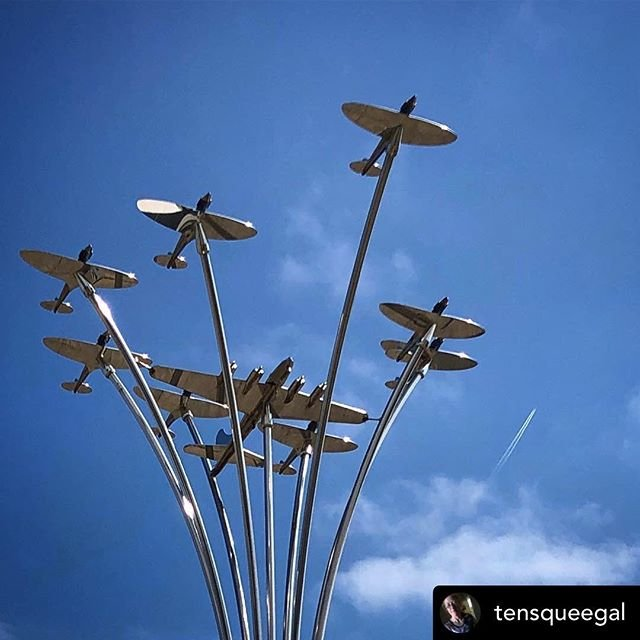 Posted withrepost  tensqueegal Allied aircrew memorial at #guernseyairport #memorial#guernsey #wewillrememberthem #lestweforget