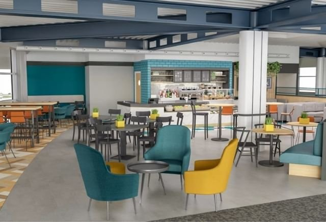 Work to open Bailiwick Bar amp Kitchen at Guernsey Airport continues with contractors starting on the final fit out phase of the project this week. Link in bio.