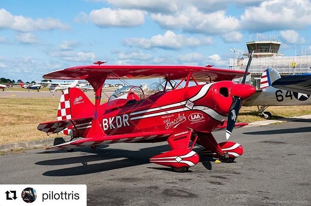 #Repost pilottris with getrepostIt was really good to meet and catch up with laurenairshows in the week during the gsyairdisplay. Here is her Pitts Special aeroplane that she uses during her fantastic display over St Peter Port! Head on over to her page and give her a follow  #Aviation #Aviate #InstaAviation #Pilot #TurboProp #ATR #Wings #MyAurigny #Guernsey #ChannelIslands #Jersey #Alderney #Airplane #Flight #Flying #Aurigny #Clouds #Flying #Flight #InstaPilot #LoveAirshows #PittsSpecial