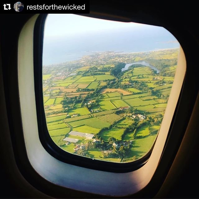 Aerial photo captured after take off at #guernseyairport  Great photo by restsforthewicked