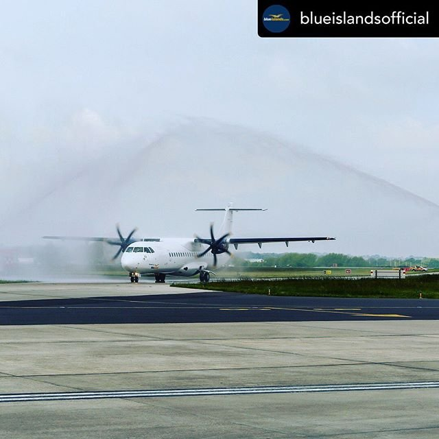 Posted withrepost  blueislandsofficial Blue Islands is excited to be launching two new routes this week from guernseyairport .From today theres a new way to travel to London from Guernsey with daily flights to londonsouthendairport where its just moments from plane to train and regular services to take you to central London in as little as 44 minutes..Fly from 29.99 one way, book now at flybe.com. Route operated by Blue Islands, Blue Islands is a Flybe franchise partner..#guernseyairport #guernsey #london #londonsouthend #newroute #visitguernsey #atr #atr72 #channelislands #staycation #fly #mybi