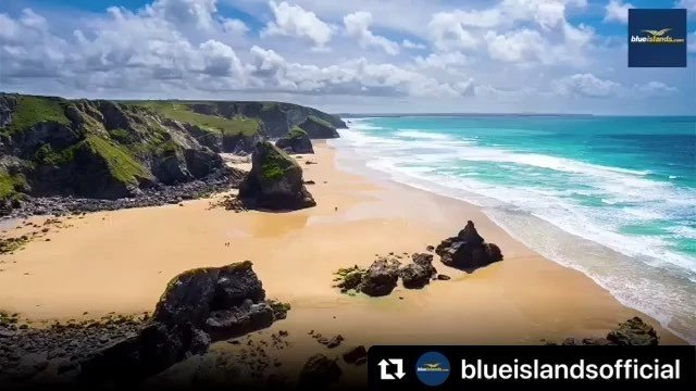 #Repost blueislandsofficial with makerepostNEW NEWQUAY SERVICE THIS SUMMER.Cornwall is now easily accessible from Guernsey and Jersey with three flights per week throughout the summer and is waiting to be discovered. .Flights on Mondays, Wednesdays and Saturdays from 3 June until 31 August. Book now on the flybe website .Route operated by Blue Islands. Blue Islands is a Flybe franchise partner..#guernseyairport #guernsey #jerseyairport #jerseyci #newquay #cornwall #landsend #stives #mousehole #fistralbeach #surfing #minacktheatre #sennencove #summerholiday #staycation #edenproject #mybi