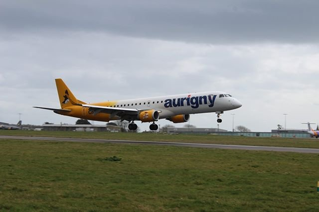 aurignygsy consolidates its schedule due to #covid19. Alderney Airport schedules will be dealt with later. Link in bio.