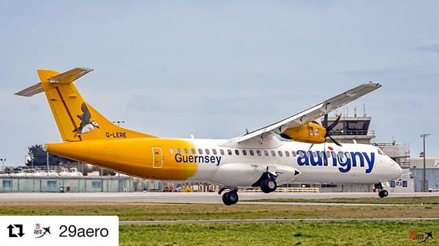 #Repost 29aero with getrepostAurigny ATR72500 GLERE battling the strong crosswinds this afternoon whilst operating her flight from Bristol.#Aurigny #MyAurigny #ATR72 #ATRAircraft #AviationPhotography #Storm #Wind #Aviation #AvGeek #Plane #PlanePorn #Pilot #29Aero #AvGeek #Aviation #MegaPlane #InstaPlane #InstagramAviation #BRS #Bristol #Guernsey #Snapseed #GuernseyAirport #GCI #Force7
