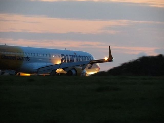 #Aurigny #Embraer195 captured at #GuernseyAirport by luke.1  Great shot!