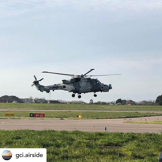 Posted withrepost  gci.airside Royal Navy Wildcat  HMA2 #guernseyairport #avgeek #airport #egjb #aviationgeek #aviationphoto #aircraft #travel #aviation #aviation4u #avpic #jetpic #guernsey #airplane #royalnavy #helicopter #wildcathma2