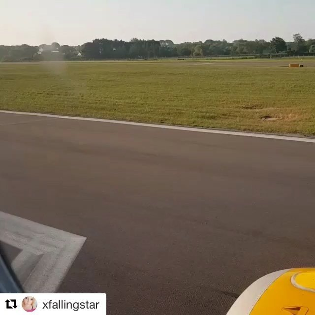 #Repost xfallingstar with getrepost#TakingOff from #GuernseyAirport heading for #GatwickAirport  #nicedayforflying #takeoff #runway #plane #flying #guernsey #island #igdaily #igersuk #holiday
