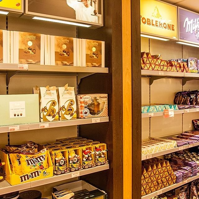 Do you have a sweet tooth? #guernseyairport #dutyfree have a tasty selection of chocolates and sweets  Have a look next time you visit!