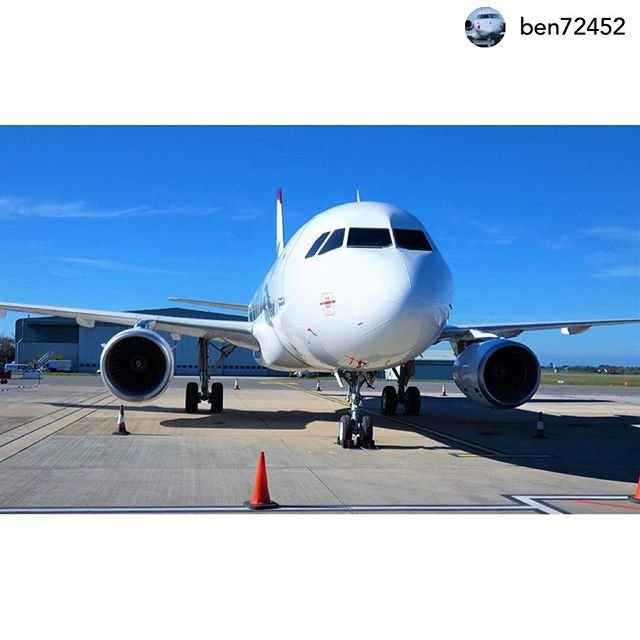 Posted withrepost  ben72452 guernsey #airbus #A319  #aircraft  #planes #planelove #loveplanes #aviation #aviationphotos #jet #planephotos  #aircraftphotography #airbuslovers #airbuslover #planespotter #engine #guernsey #guernseyairport #aero #aeroclub