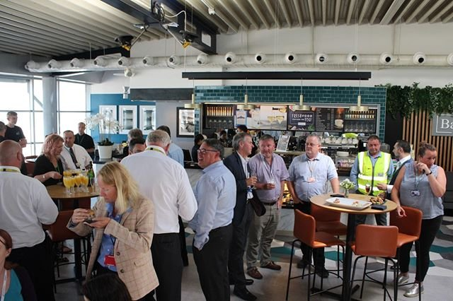 Bailiwick Bar amp Kitchen, Guernsey Airports new #food and #beverage offering, is now open for business. Link in bio. #guernseyairport #airportrestaurant #airportcafe