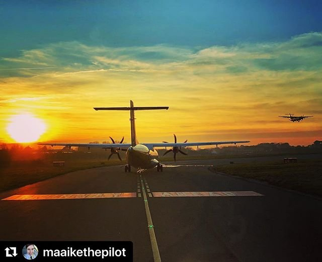 #Repost maaikethepilot with makerepostATRs everywhere