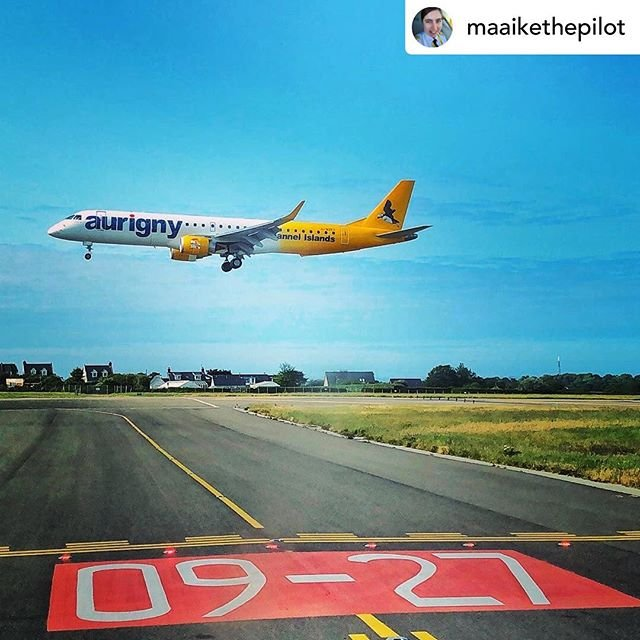 Posted withrepost  maaikethepilot Embraer of the House Aurigny, Mother of Puffins, Queen of London Gatwick, Protector of Passengers
