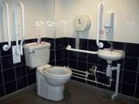 Accessible toilet on first floor